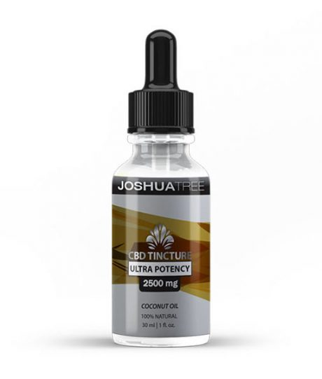 2500mg CBD Bacopa Monnieri Tincture (Joshua Tree)