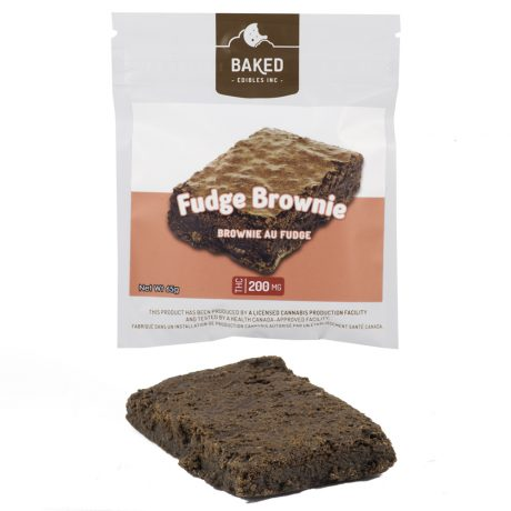 Chocolate Fudge Brownie 200mg THC