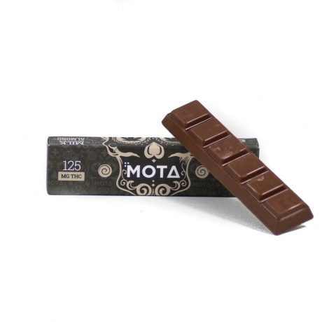 Dark Chocolate Bar 125mg THC