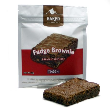 Fudge Brownie 400mg THC