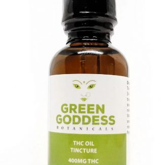 Green Goddess THC Tincture 30mL Orange Flavour