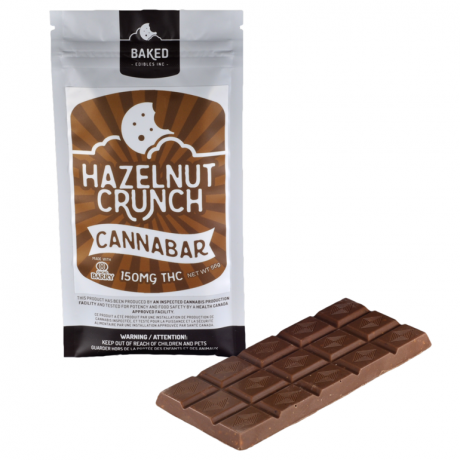 Hazelnut Crunch Cannabar 150mg THC