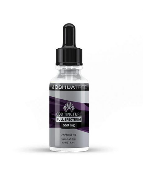 Joshua Tree 550mg Coconut Oil Tincture