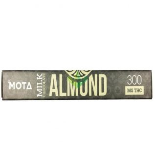 Milk Chocolate Almond Bar 300mg THC