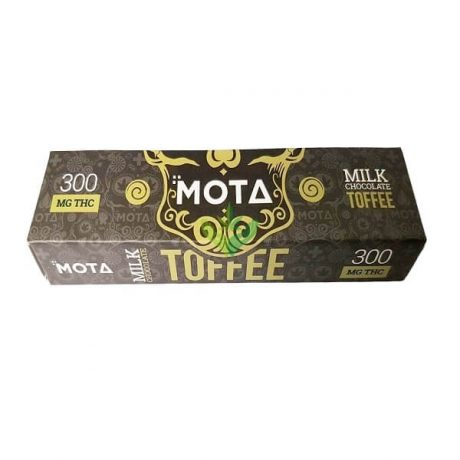 Milk Chocolate Toffee Bar 300mg THC