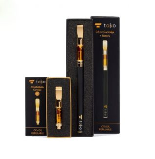 TOKO Gold Oil Vape Pen Kit Refillable TOKO